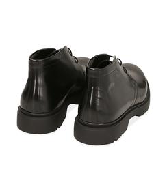 Polacchini neri in pelle abrasivata, Scarpe, 1098T5427ABNERO040, 004 preview