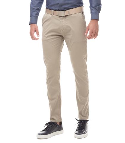 Pantaloni Chino beige in cotone, 11G5T2072TSBEIG44, 001