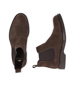 Chelsea boots testa di moro in camoscio, SALDI UOMO, 16D4T1123CMMORO039, 003 preview