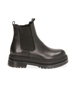 Chelsea boots neri in pelle, tacco 5,5 cm, Valerio 1966, 18L6T1503PENERO035, 001 preview