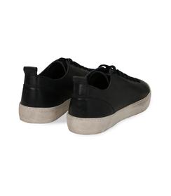 Sneakers blu in pelle con suola bianca, Valerio 1966, 1377T8081PEBLUE040, 004 preview