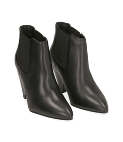 Chelsea boots neri in pelle di vitello , Valerio 1966, 12D6T3910VINERO036, 002 preview