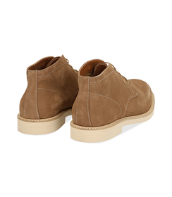 Desert boots taupe in camoscio , Valerio 1966, 1198T5847CMTAUP040, 004 preview