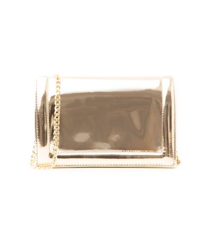 Pochette oro specchiato, Borse, 1166T6452SPOROGUNI, 001