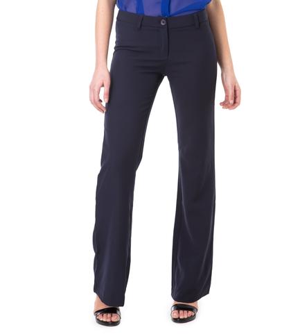 Pantaloni flared blu, 11F8T2630TSBLUE40, 002