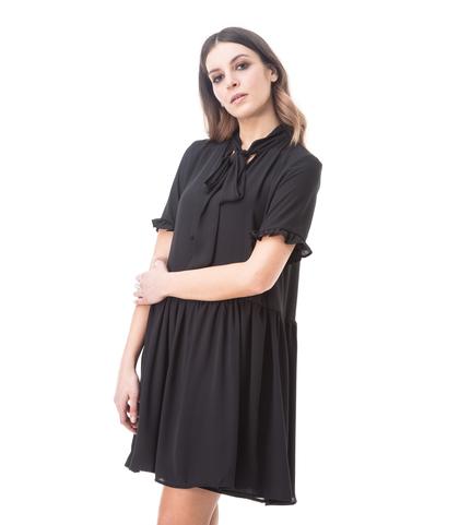 Abito corto nero, Abbigliamento, 13T3T1891TSNEROL, 002