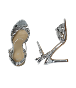 Sandali argento effetto mirror, DONNA, 0921T9542SPARGE035, 003 preview
