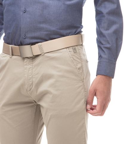 Pantaloni Chino beige in cotone, 11G5T2072TSBEIG44, 002