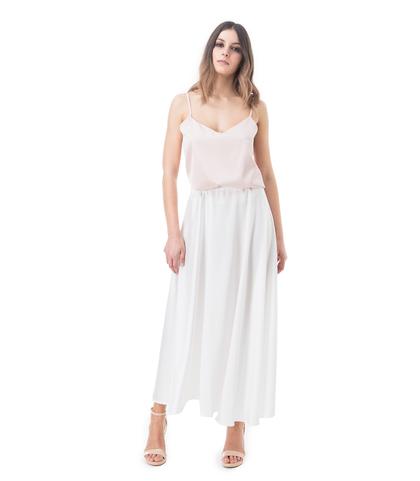 Gonna bianca, Abbigliamento, 13E2T1100TSBIANM, 001