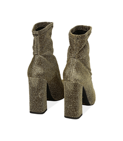 Ankle boots oro in lamè, Valerio 1966, 1002T7988LMOROG036, 004 preview