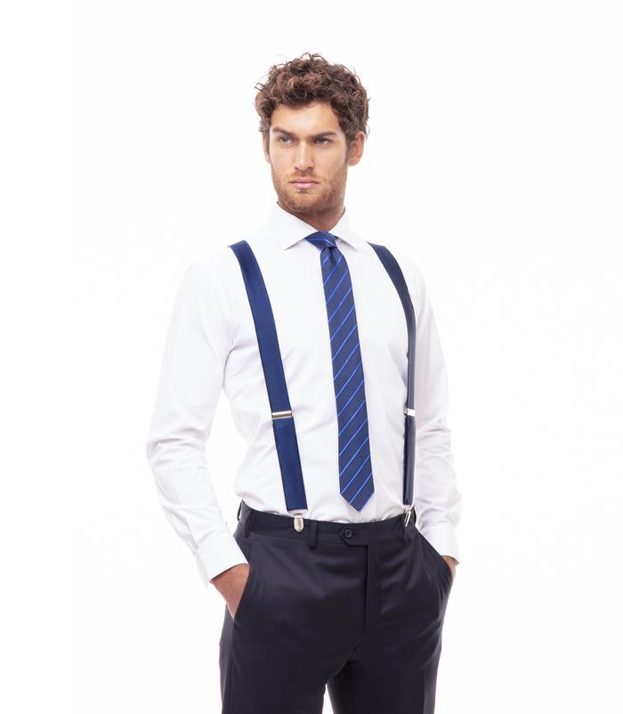 sito autorizzato moda qualità autentica Bretelle blu elastiche uomo | Valerio 1966