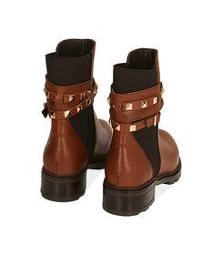 Chelsea boots cognac in pelle, Valerio 1966, 18A5T0505PECOGN036, 004 preview