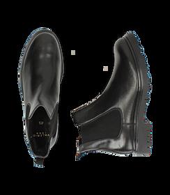 Chelsea boots neri in pelle, Valerio 1966, 1698T7409PENERO040, 003 preview