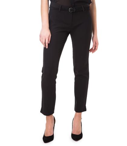 Pantaloni neri slim, 11F8T0203TSNERO40, 002