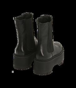 Chelsea boots platform neri in pelle di vitello , SALDI DONNA, 1689T8002VINERO035, 004 preview