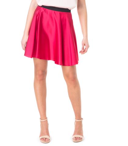 Gonna rossa in raso, Abbigliamento, 11D9T0021RSROSSL, 002