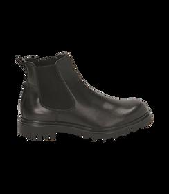 Chelsea boots neri in pelle, Valerio 1966, 1698T7409PENERO040, 001 preview