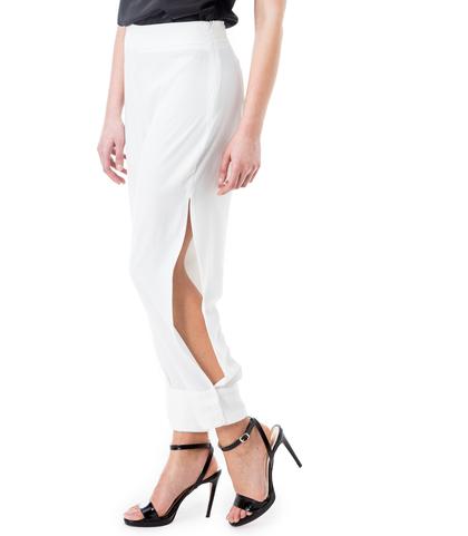 Harem pants bianchi, Valerio 1966, 11G7T7950TSBIAN40, 002