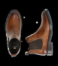 Chelsea boots testa di moro in pelle di vitello, SALDI UOMO, 1677T0608VIMORO040, 003 preview