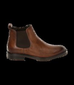 Chelsea boots testa di moro in pelle di vitello, SALDI UOMO, 1677T0608VIMORO040, 001 preview