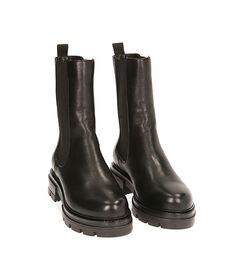 Chelsea boots neri in pelle, Valerio 1966, 1877T1309PENERO035, 002 preview