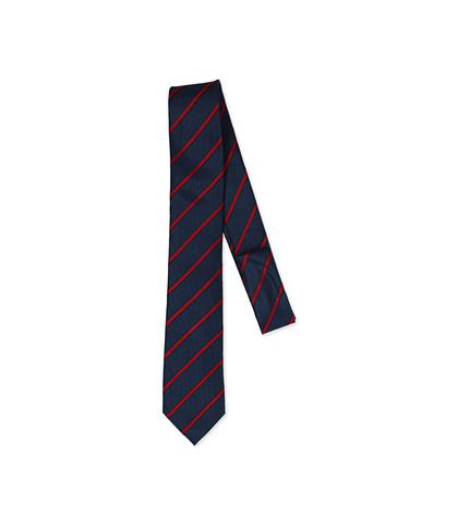 Cravatta blu/rossa in seta, Accessori, 11I9T0001TSBLROUNI, 001