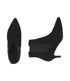 Chelsea boots neri in camoscio , Scarpe, 12D6T8401CMNERO036, 003 preview