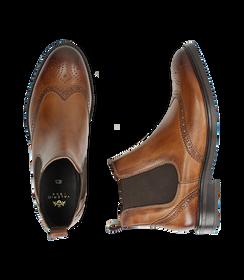 Chelsea boots testa di moro in pelle di vitello, Valerio 1966, 1677T0609VIMORO040, 003 preview