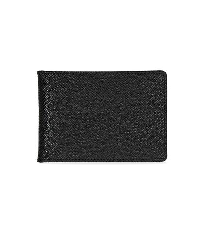 Portafoglio nero in pelle, Accessori, 10A4T1708PENEROUNI, 001