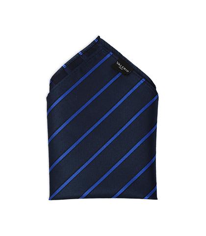 Pochette blu in pura seta , Accessori, 11I9TP002TSBLUEUNI, 001