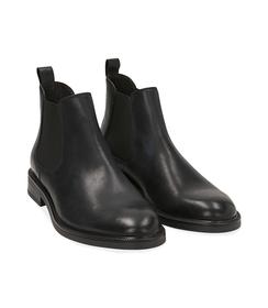 Chelsea boots neri in pelle di vitello, SALDI UOMO, 1677T0608VINERO039, 002 preview