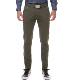 Pantaloni Chino militare in cotone, SUMMER PRICE, 11G5T2072TSMILI44, 001 preview
