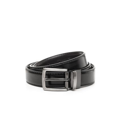 Cintura nera in eco-pelle, Accessori, 1064T6544EPNERO110, 001