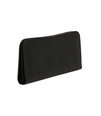 Portafoglio nero in eco-pelle, nove taschini, Borse, 1057T8997EPNEROUNI, 002