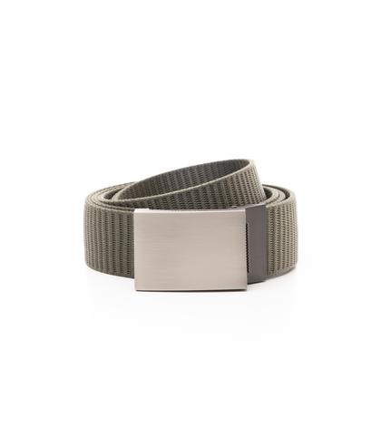 Cintura militare in tessuto intrecciato con fibbia a placca, Accessori, 11F8T0101NYMILIUNI, 001
