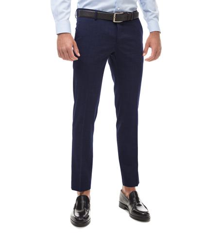 PANTALONI BLU IN FRESCO LANA CLASSICI, Abbigliamento, 13T2T6333TSBLUE44, 001