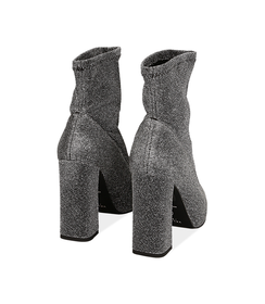 Ankle boots argento in lamè, Scarpe, 1002T7988LMARGE036, 003 preview