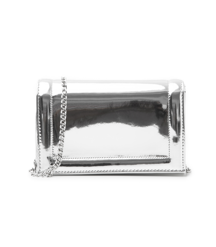 Pochette argento specchiato, DONNA, 1166T6452SPARGEUNI, 001