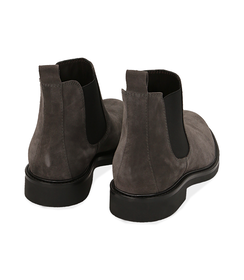Chelsea boots grigi in camoscio , SALDI UOMO, 16D4T1123CMGRIG039, 004 preview
