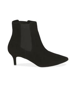 Chelsea boots neri in camoscio , Scarpe, 12D6T8401CMNERO036, 001 preview