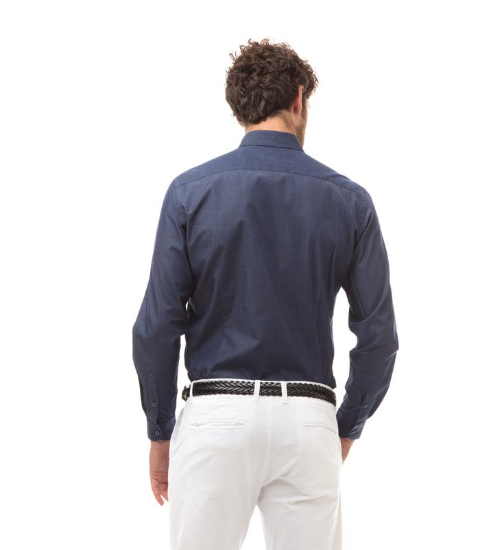 brand new dc08c 0b52d Camicia jeans, slim fit