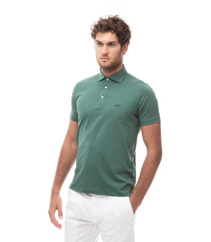 Polo verde in jersey, Valerio 1966, 13I5T0130TSVERD46, 001