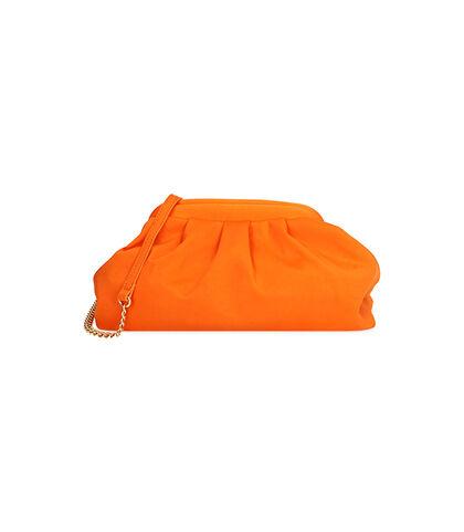 Borsa in lycra arancio , DONNA, 1751T6681LYARANUNI, 001