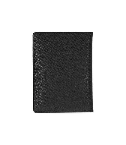 Portafoglio nero in pelle , Valerio 1966, 10A4T1701PENEROUNI, 002