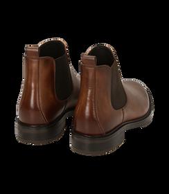 Chelsea boots testa di moro in pelle di vitello, SALDI UOMO, 1677T0608VIMORO040, 004 preview