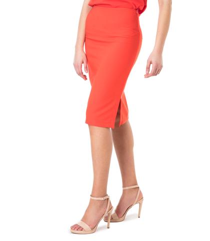 Gonna tubino rossa stretch , Abbigliamento, 11G7T3850TSROSS40, 002