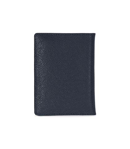 Portafoglio blu in pelle , Valerio 1966, 10A4T1701PEBLUEUNI, 002