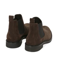 Chelsea boots testa di moro in camoscio, SALDI UOMO, 16D4T1123CMMORO039, 004 preview