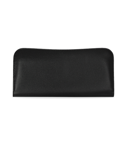 Portafoglio nero in eco-pelle, nove taschini, Borse, 1057T8997EPNEROUNI, 001