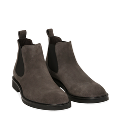 Chelsea boots grigi in camoscio , SALDI UOMO, 16D4T1123CMGRIG039, 002 preview